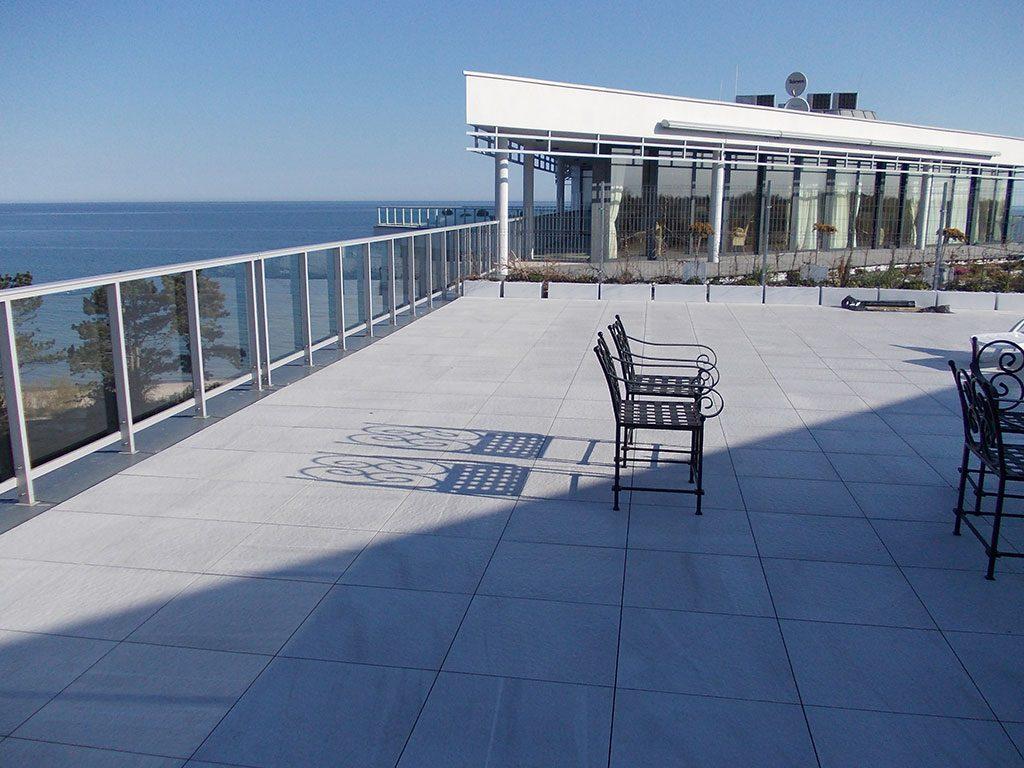 Foto terrazza vista mare edificio Dune Eterno Ivica