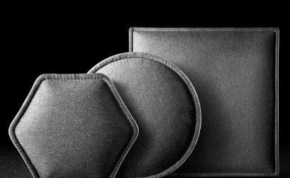 Phonolook è la linea di soluzioni di design per il fonoassorbimento reaòlizzata da Eterno Ivica