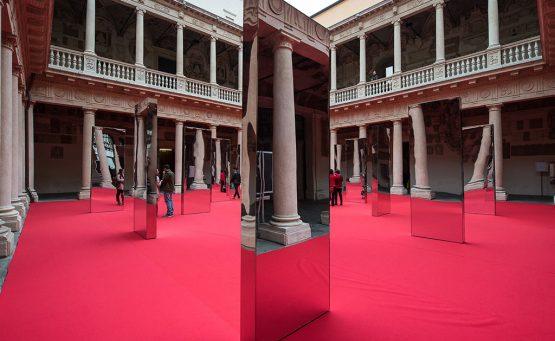 installazione innovation hall a palazzo del bo a padova per Tedx