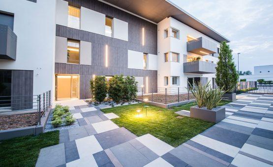 Vista esterna di Residence Vivo a Ponzano Veneto