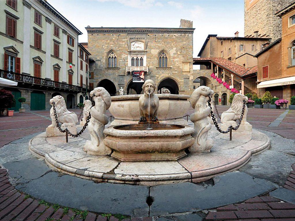 fontana contarini a Bergamo