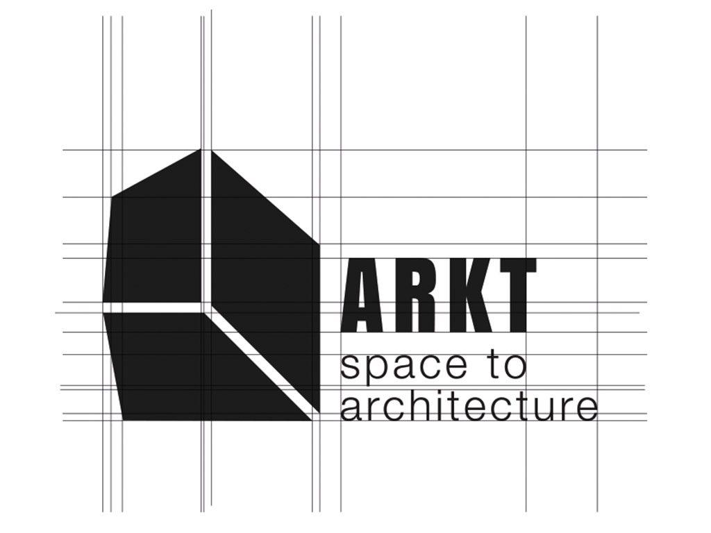 Progettazione del logo ARKT - space to architecture