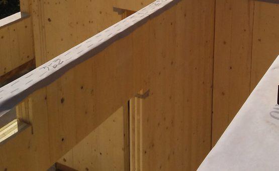 costruzione edificio in legno
