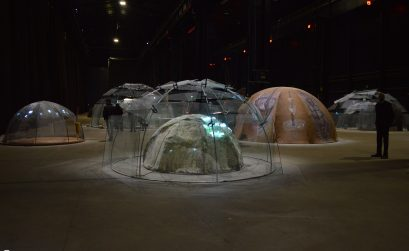 Igloo hangar at Milan
