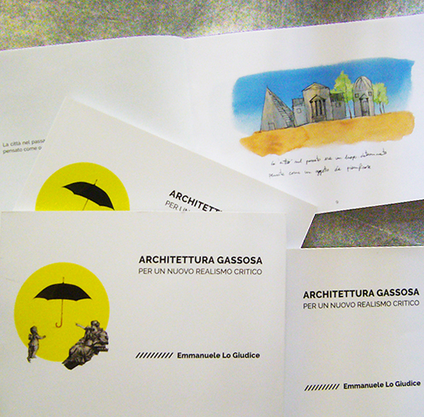 "Depliant ""Architettura Gassosa"""