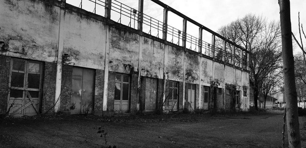 Vecchia struttura abbandonata