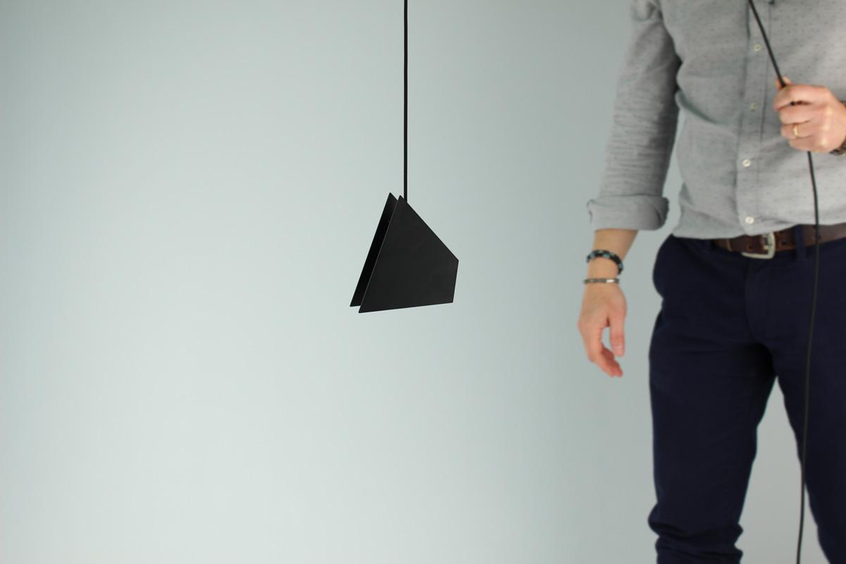 Lampade Attaccate Al Soffitto lampada poligo - arkt - space to architecture