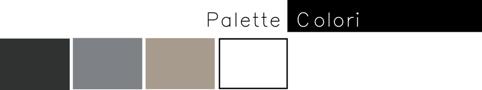 palette colori usata nel locale