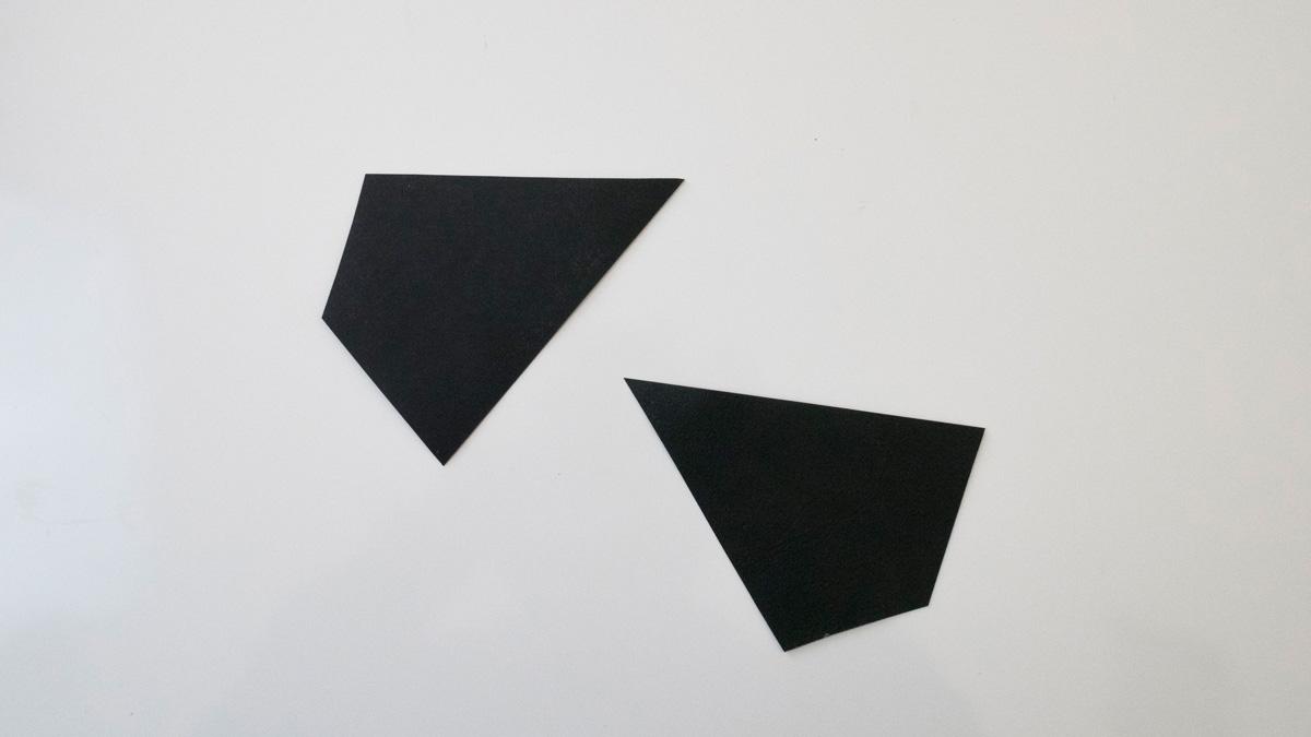 Prototipo dei poligoni in cartoncino