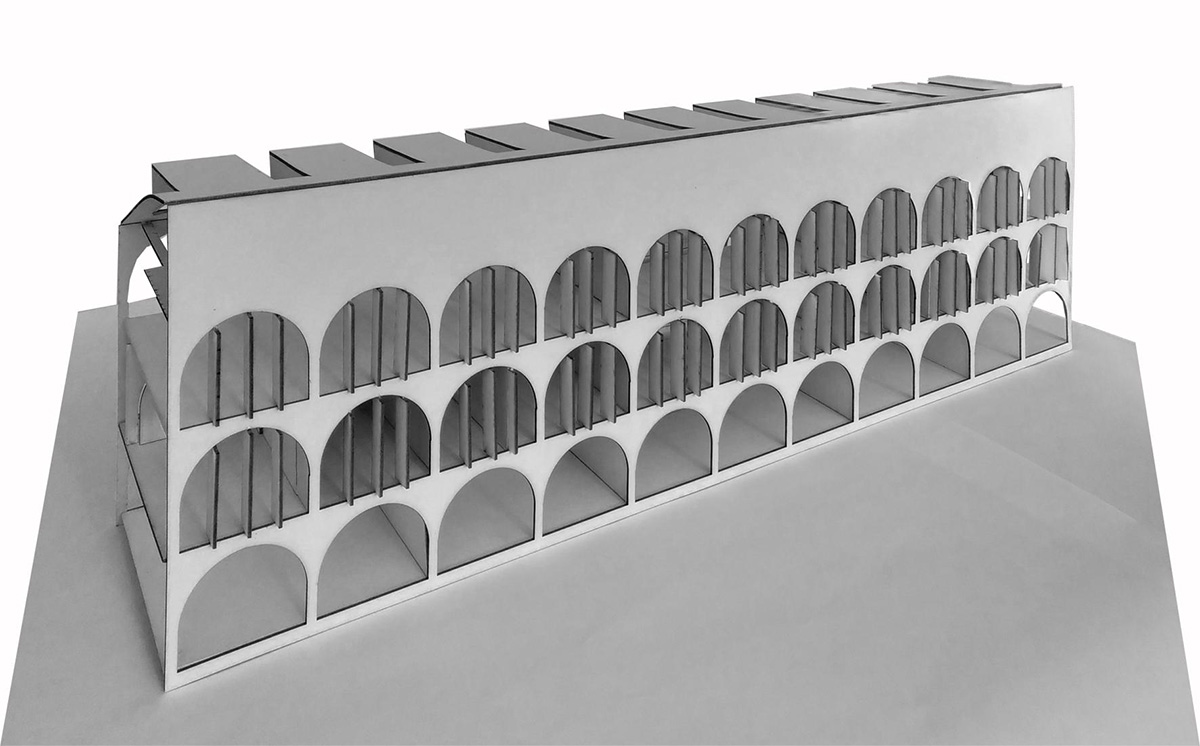 model of an architectural project