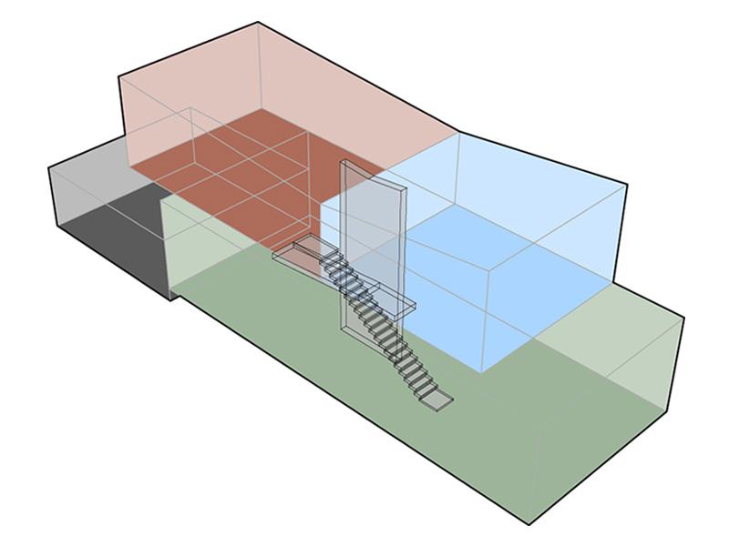 3D del progetto O-House