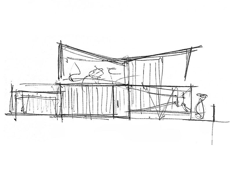 Disegno del progetto O-House