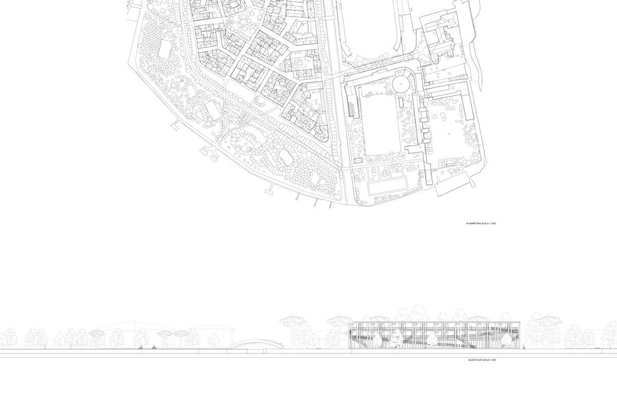 Disegno tecnico n°1 di Jin Young Kwak, Marchiori Alessandro e Zefi Karmela