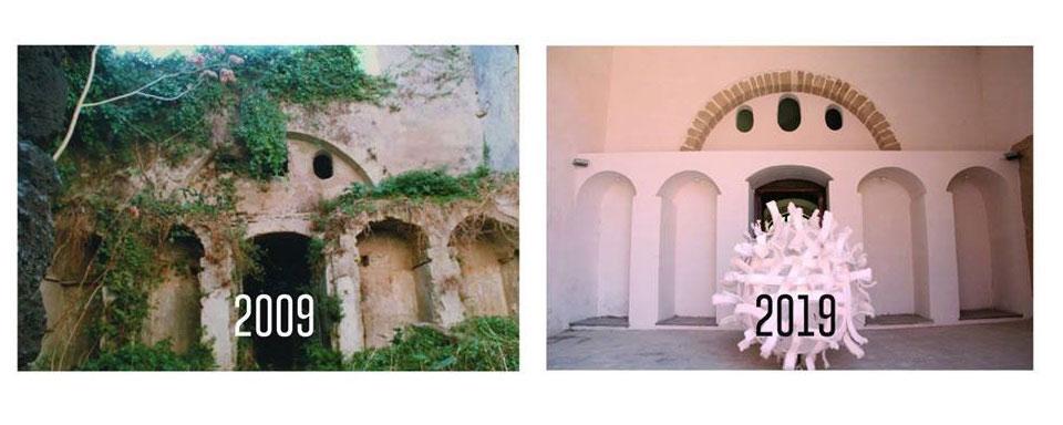 Restauro di una vecchia facciata