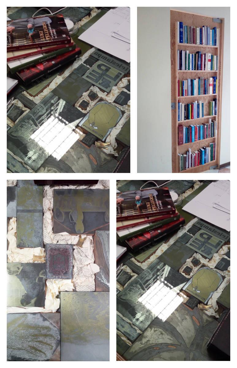 Mooadboard che mostrano le varie pavimentazioni